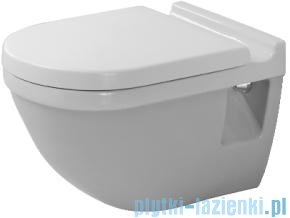 Duravit Starck 3 miska toaletowa wisząca lejowa compact 360x485 220209 00 00