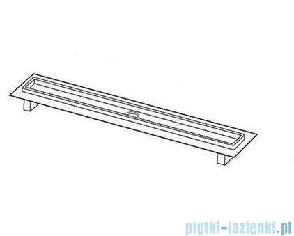 Tece Rynna odpływowa Tecedrainline-prosta z kołnierzem 120 cm 6.012.00