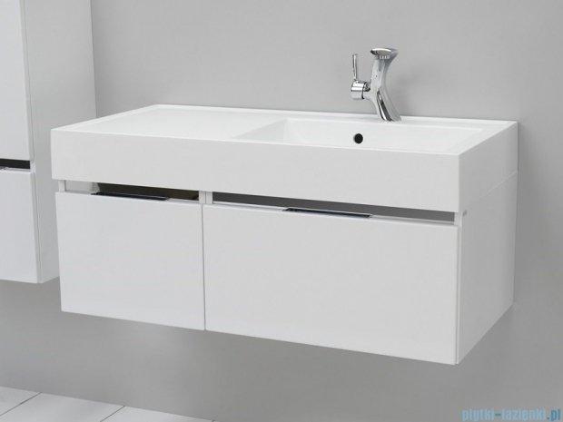 Antado Cantare szafka z umywalką prawą 100x50x33 biały połysk FSM-342/6GT-47/47+FSM-342/4GT-47/47+UNAM-1004P