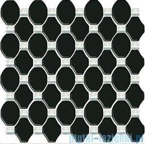 Paradyż Secret nero mozaika szklana 29,8x29,8