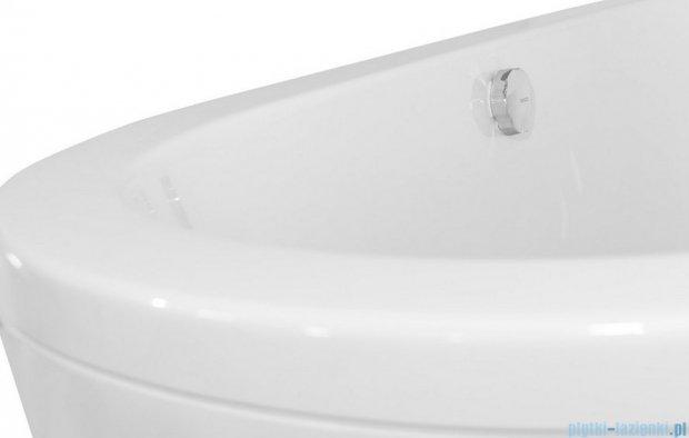 Besco Victoria wanna 160x75cm wolnostojąca z syfonem klik-klak #WKV-160WO