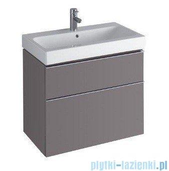 Keramag Icon Szafka wisząca pod umywalkowa 74cm platynowy połysk 840377