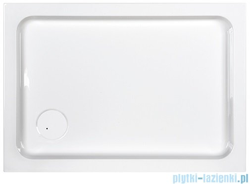 Sanplast Free Line brodzik prostokątny B/FREE 80x120x5cm+stelaż 615-040-1390-01-000