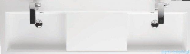 Riho Umywalka podwójna z marmuru syntetycznego 160x48 Andora F7AN116048122