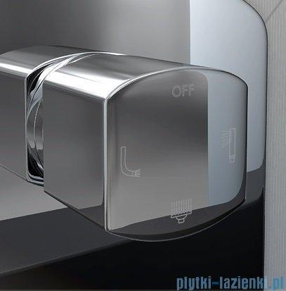 Kohlman Foxal podtynkowa bateria wannowo-prysznicowa z trzema wyjściami QW211F