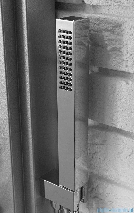 Rea panel natryskowy aluminiowy z mieszaczem i kaskadą srebrny 8725Srebrny
