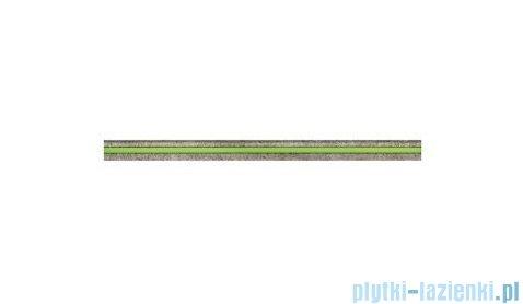 Tubądzin Lemon Stone grey listwa ścienna szklana 5x74,8