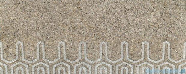 Tubądzin Lemon Stone grey B dekor ścienny 29,8x74,8