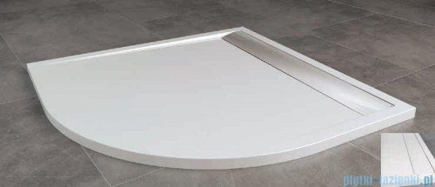 SanSwiss Ila Wir Brodzik półokrągły 90x90cm kolor biały/biały WIR550900404