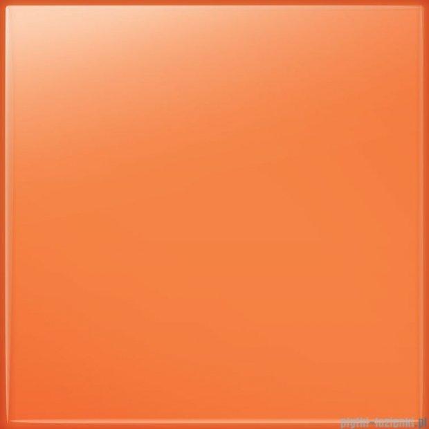 Tubądzin Pastel pomarańczowy połysk płytka ścienna 20x20