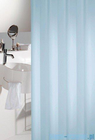 Sealskin Madeira jasny niebieski zasłona prysznicowa tekstylna 120x200cm 238501120