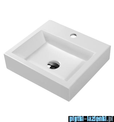 Omnires Thasos 360 umywalka nablatowa 42x36cm Biała