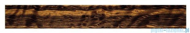 Tubądzin Venatello brown listwa ścienna szklana 74,8x9,8