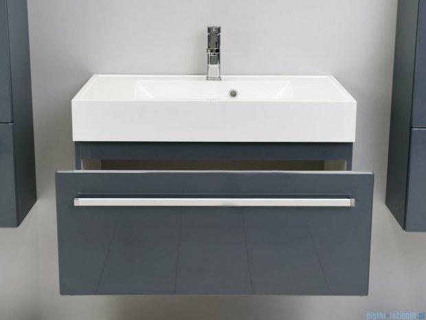 Antado Variete szafka z umywalką, wisząca 80x50x33 szary połysk FM-442/8GT-K917 + UNA-800