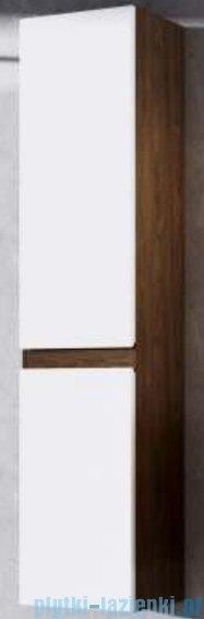 Aquaform Ramos standard szafka słupek wysoki lewa biała/dąb 0415-423114