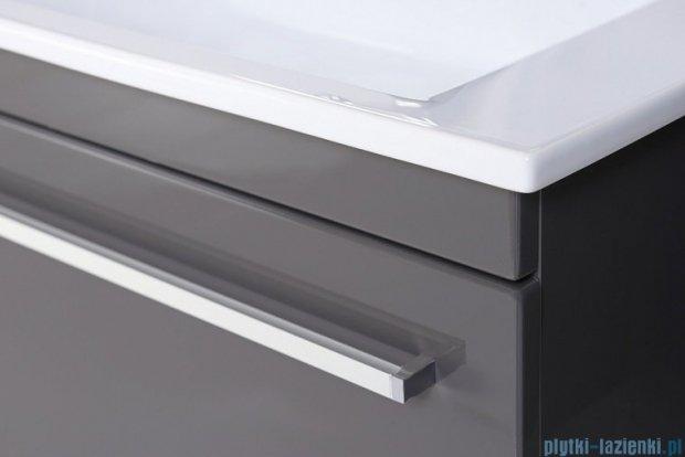 Antado Spektra ceramic szafka z umywalką 62x43x40 szary połysk wolfram grey FDF-AT-442/65GT-56+UCS-AT-65