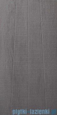 Paradyż Cortada grafit struktura płytka podłogowa 29,8x59,8