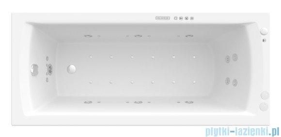 Roca Linea XL wanna 170x75cm z hydromasażem Effects Gold Opcja A24T056000