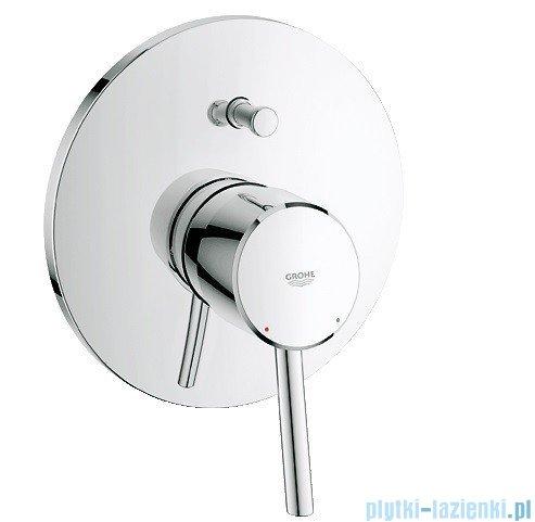 Grohe Concetto jednouchwytowa bateria wannowa z przełącznikiem wanna/prysznic 19346001