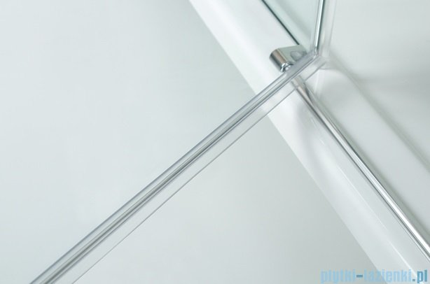 Sanplast kabina narożna prostokątna lewa przejrzysta KNDJ2L/AVIV-80x120 80x120x203 cm 600-084-0170-42-401