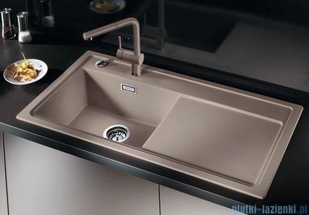 Blanco Zenar XL 6 S  Zlewozmywak Silgranit PuraDur komora lewa kolor: alumetalik z kor. aut. i szklaną deską do krojenia 519283