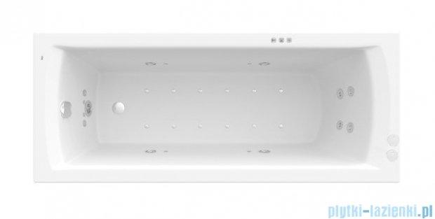 Roca Linea wanna 170x70cm z hydromasażem Smart WaterAir Plus A24T038000