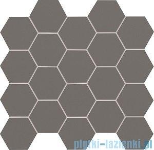 Tubądzin All in white / grey mozaika ścienna 28,2x30,6