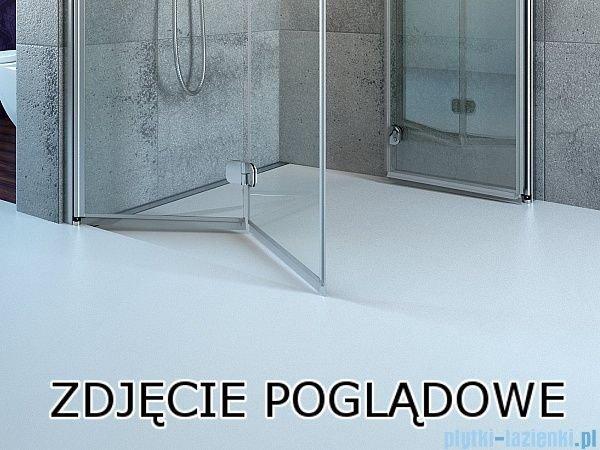 Eos KDD Radaway kabina prysznicowa 80x80 szkło intimato 37213-01-12N
