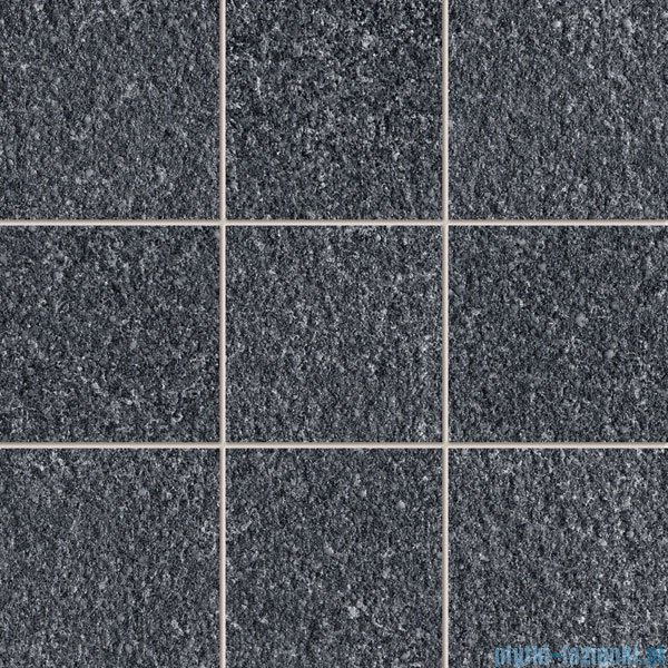 Tubądzin Graniti black 1 MAT mozaika gresowa 29,8x29,8