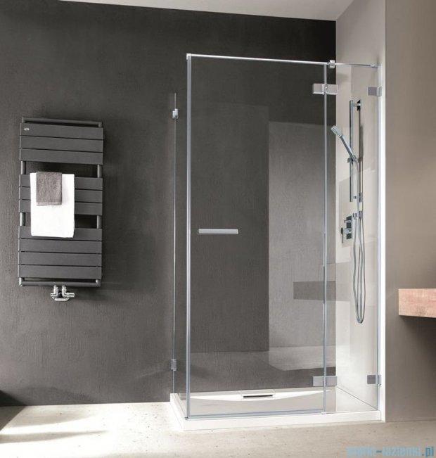 Radaway Euphoria KDJ Kabina prysznicowa 90x80 prawa szkło przejrzyste 383044-01R/383051-01