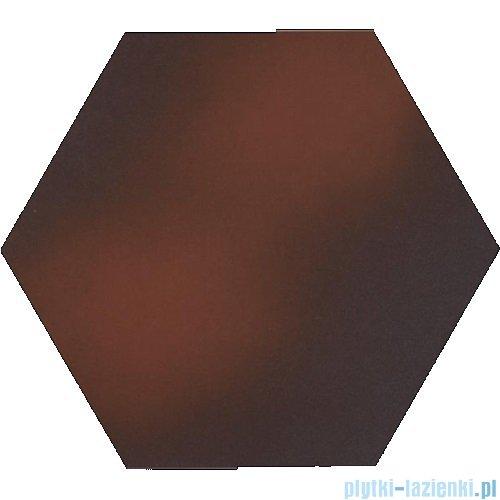 Paradyż Cloud brown klinkier heksagon 26x26