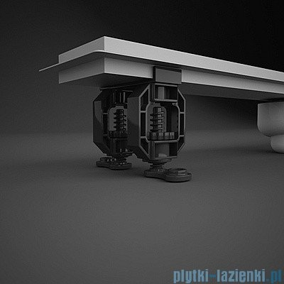 Radaway Steel Odpływ liniowy 115x8cm 5L115A,5R115S