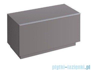 Keramag Icon Szafka stojąca boczna pozioma 89cm platynowy połysk 840092