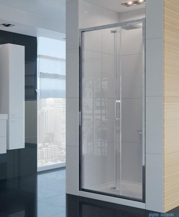 New Trendy Alta drzwi prysznicowe 90cm przejrzyste D-0088A