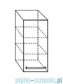 Antado Spektra Szafka wisząca górna 30x20x72 stare drewno FDF-418/50