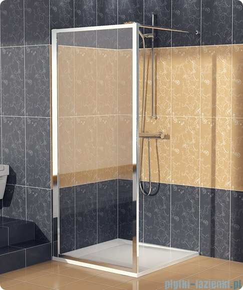 SanSwiss Eco-Line Ścianka boczna Ecof 70cm profil połysk szkło przejrzyste ECOF07005007