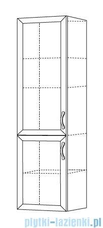 Antado Rustic słupek wysoki biały 40x30cm RST-162-14