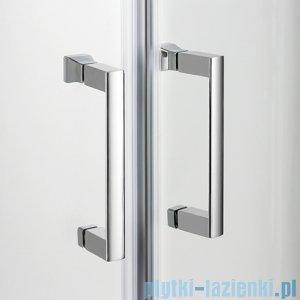 New Trendy Varia kabina prysznicowa półokrągła 90x90x165cm szkło grafit K-0132