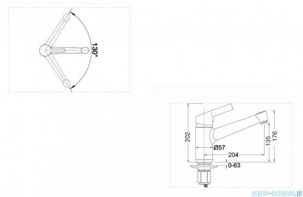 Blanco Elipso-f II  bateria wysokociśnieniowakolor: chrom 514913