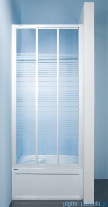 Sanplast drzwi przesuwne  DTr-c-120 szkło Sitodruk w4 600-013-1731-01-410