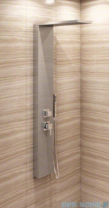Rea panel natryskowy aluminiowy z mieszaczem srebrny 9750Srebrny