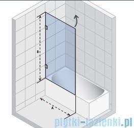Riho Scandic S108 parawan nawannowy  65x150 cm GC56200