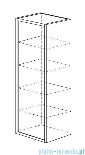 Antado Grande słupek wysoki prawy 40x32x150 orzech Dijon+biały GR-161R-3734/WS