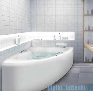 Besco Natalia Premium 150x100cm Wanna asymetryczna Prawa+Zagłówek+2szt Uchwytów