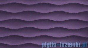 Płytka ścienna Tubądzin Colour Violet R.3 59,3x32,7