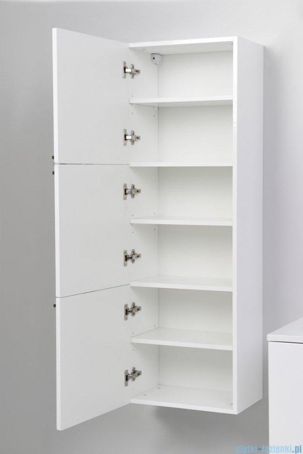 Antado Sycylia Szafka wisząca 3-drzwiowa 45x30x135 biały połysk KTS-163-WS