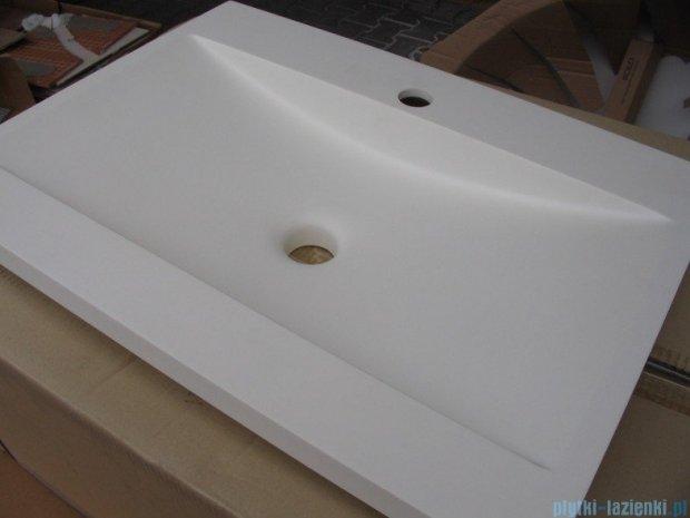 Bathco umywalka blatowa dolomitowa Manhattan 60x45 cm 0504