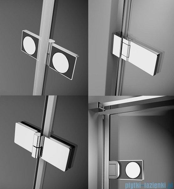 Radaway Arta Dwb drzwi wnękowe 90cm lewe szkło przejrzyste 386151-03-01L