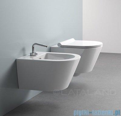 Catalano Zero wc 50 miska WC wiszący 50x35cm + deska wolnoopadająca biały 1VSV50N00+5SCSTP00