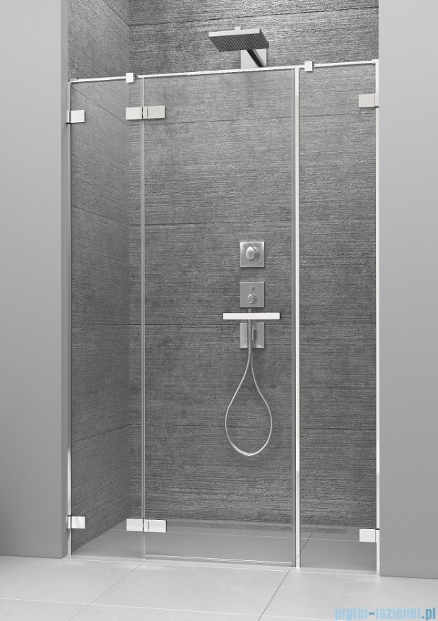Radaway Arta Dwjs drzwi wnękowe 140cm lewe szkło przejrzyste 386456-03-01L/386122-03-01L